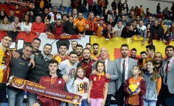 Galatasaray HDI Sigorta 3-0 İstanbul BBSK