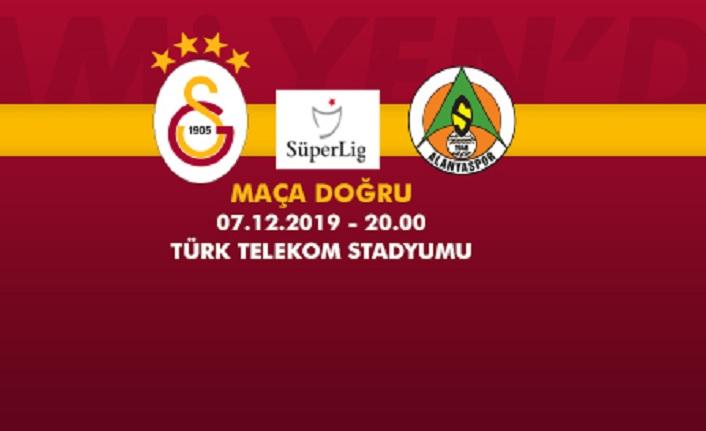 Maça Doğru   Galatasaray - Aytemiz Alanyaspor