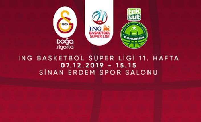 Maça Doğru | Galatasaray - Teksüt Bandırma