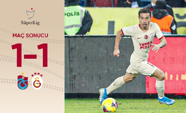Trabzonspor - Galatasaray: 1-1 Maç Sonu (Nagatomo attı, Belhanda ve Mariano ne yaptı?)