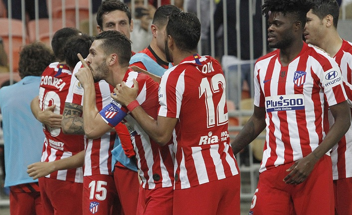Atletico Madrid, Barcelona'yı devirip finale çıktı: 3-2
