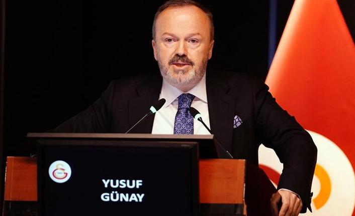 Galatasaray Başkan Yardımcısı Yusuf Günay'dan Son Dakika!