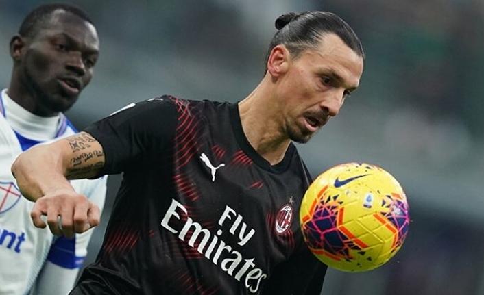 Ibrahimoviç Milan Forması ile ilk maçına çıktı!