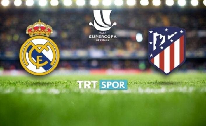 Real Madrid Atletico Madrid derbisi şifresiz kanalda