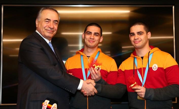 Şampiyon Judocularımızdan Başkanımız Mustafa Cengiz'e ziyaret