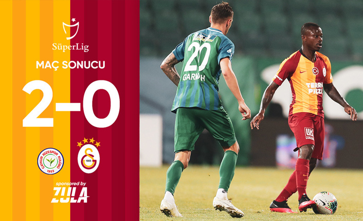 Galatasaray-Çaykur Rize: 0-2