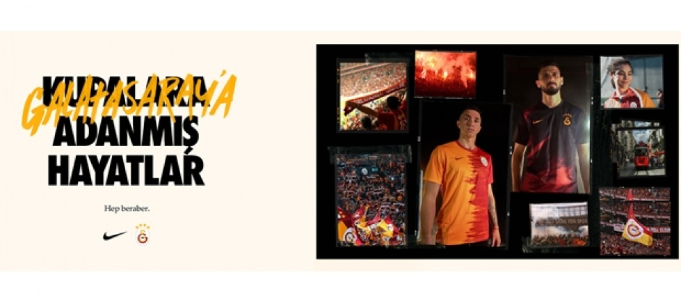 Galatasaray'ın yeni sezon formaları adanmış hayatlarla buluşuyor