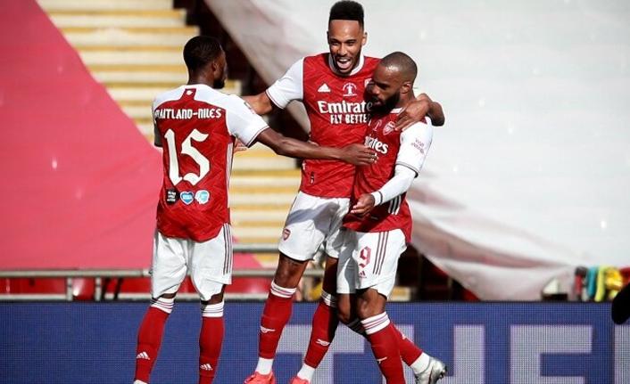 Arsenal, Aubameyang ile kupaya uzandı!