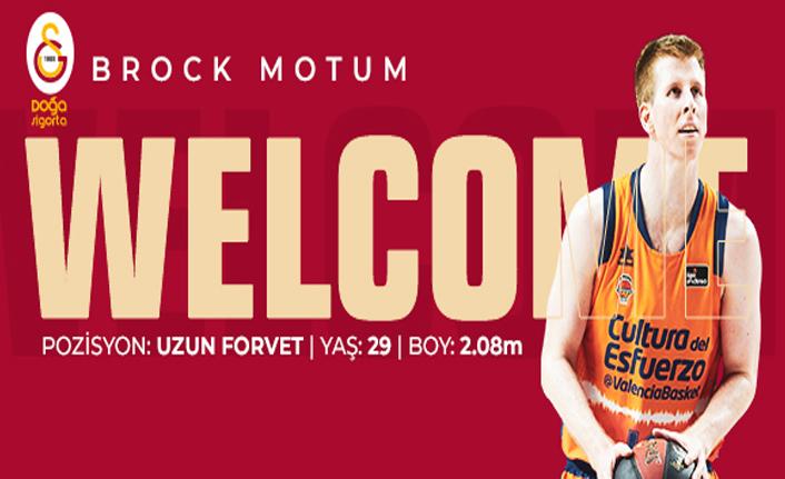 Brock Motum Galatasaray Doğa Sigorta'da