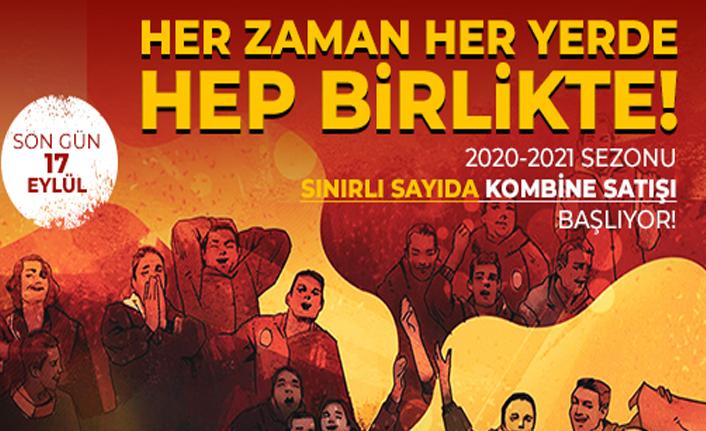 Galatasaray'da sınırlı sayıda kombine satışı başlıyor