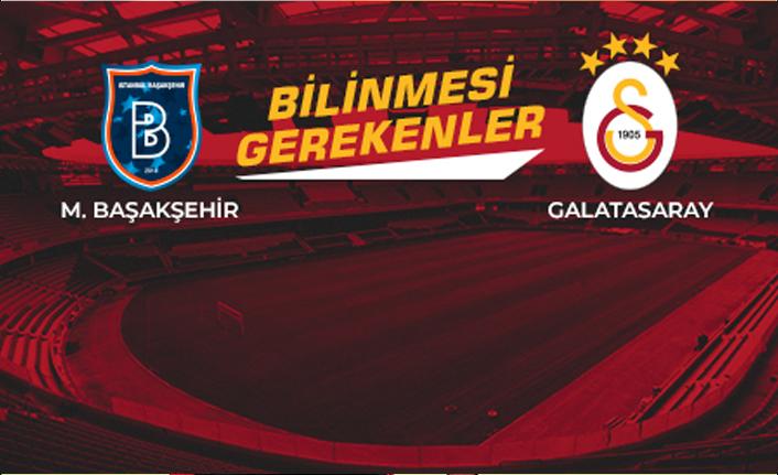 Medipol Başakşehir - Galatasaray İstatistikler!