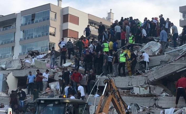Geçmiş olsun İZMİR! AFAD: 4 kişi hayatını kaybetti