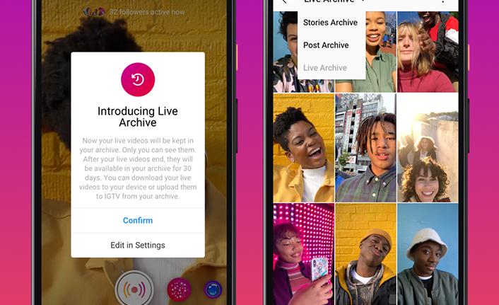 Instagram'dan yeni Canlı Yayın özellikleri