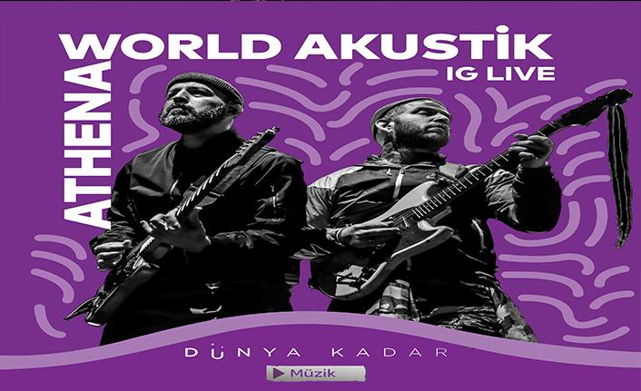 ATHENA World Akustik sahnesinde