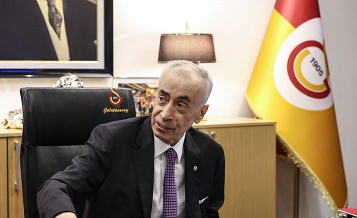 """Başkan Mustafa Cengiz, """"Galatasaray dürüsttür, şeffaftır"""""""
