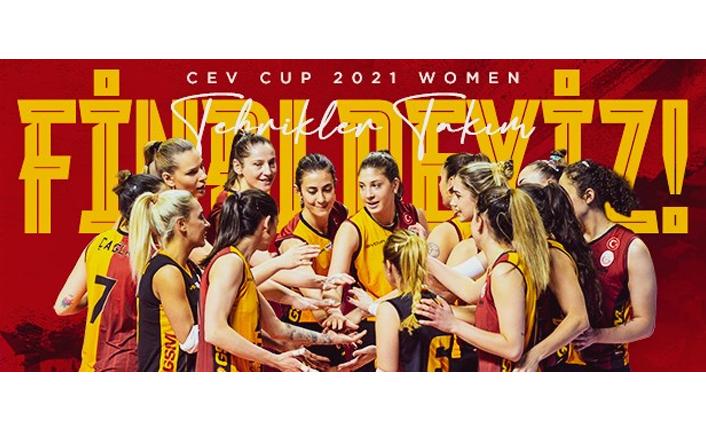 CEV Cup'ta Finaldeyiz!
