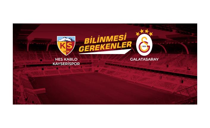 Opta Facts | Hes Kablo Kayserispor - Galatasaray