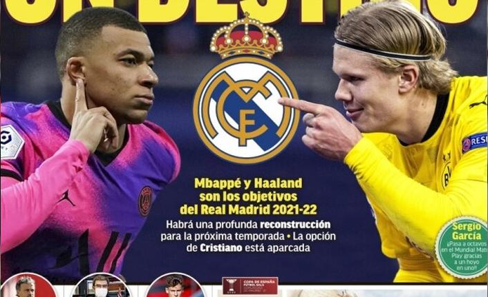 Real Madrid'in 400 milyonluk planı: Mbappe & Haaland!
