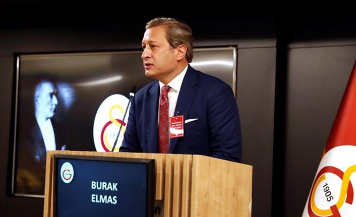 """Burak Elmas: """"Galatasaray'ı aydınlık bir geleceğe taşımak istiyoruz"""""""