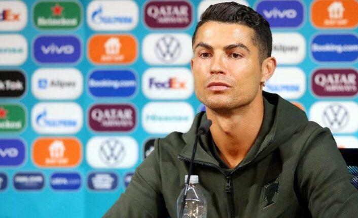 Cristiano Ronaldo'dan çok konuşulan hareket!