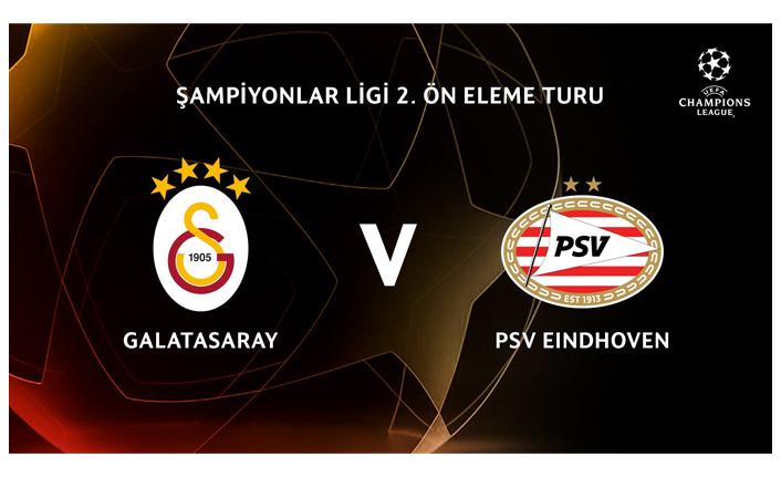 Galatasaray'ın rakibi PSV Eindhoven!