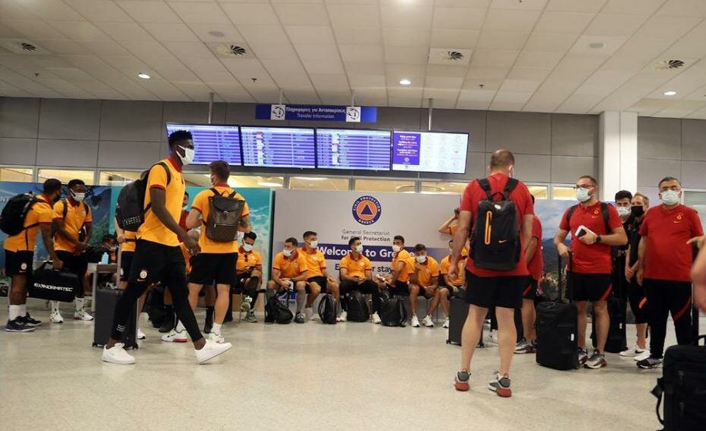Galatasaray Yunanistan'daki o anları paylaştı