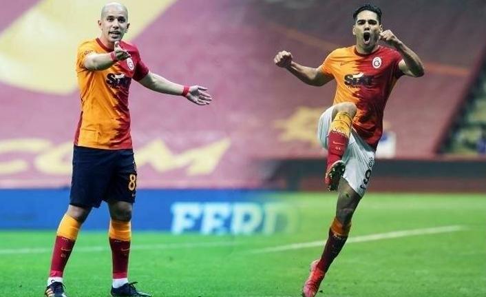 Galatasaray'da Falcao ve Feghouli için fesih planı