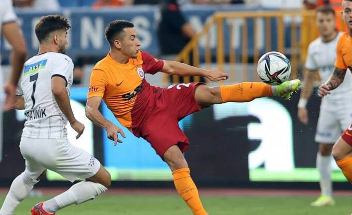 Galatasaray'da Saracchi'den sonra bir ilk: Morutan!