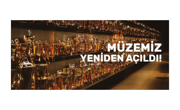 Galatasaray Stadyum Müzesi yeniden kapılarını açtı