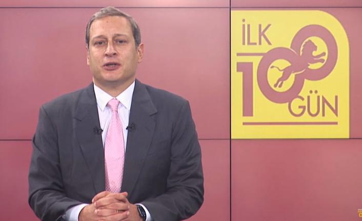Başkanı Burak Elmas ve Yönetim Kurulumuzun ilk 100 gün sunumu