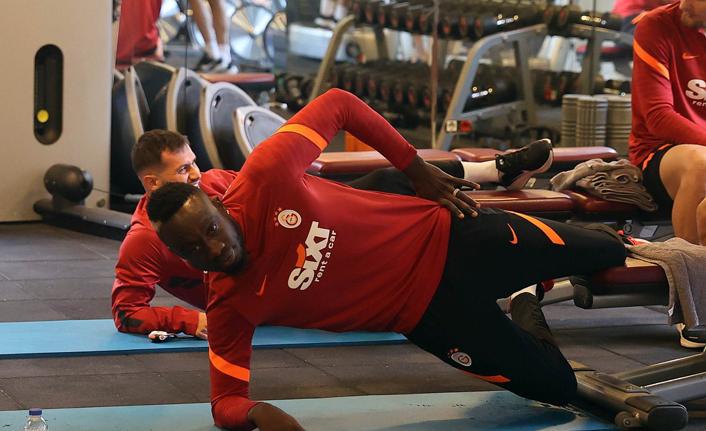Galatasaray'da en çalışkanı Diagne!