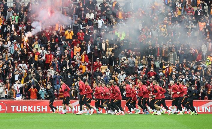 Galatasaray'dan taraftara açık antrenman