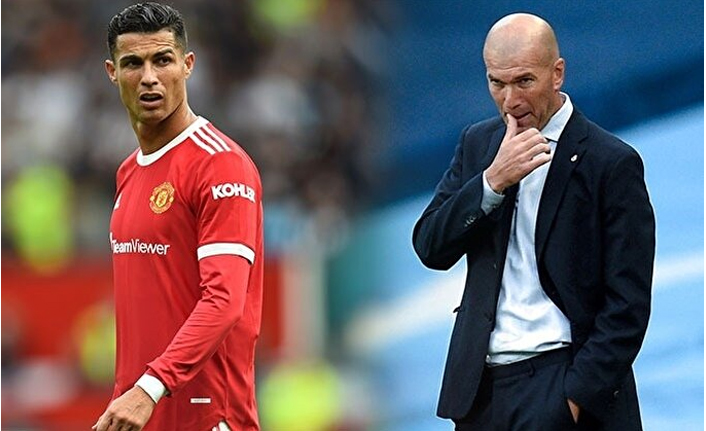 Ronaldo'dan MANU'ya Zidane önerisi!