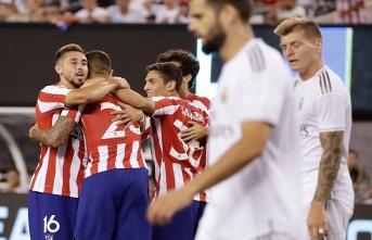 Atletico Madrid, Real Madrid'i 7-3 mağlup etti!...