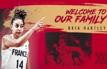 Bria Hartley Galatasaray'da
