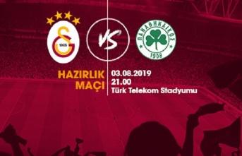 Hazırlık maçı: Galatasaray - Panathinaikos F.C.