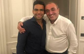 Abdurrahim Albayrak ve Radamel Falcao buluştu