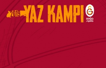 Galatasaray Doğa Sigorta'nın yaz kampı programı...