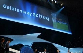 Galatasaray'ın Şampiyonlar Ligi'nde grupları...