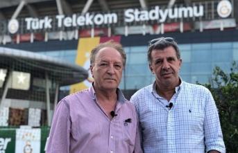 Galatasaray-Panathinakios Mücedelesi ile taraftarıyla...