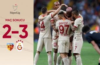 Kayserispor 2 - 3 Galatasaray