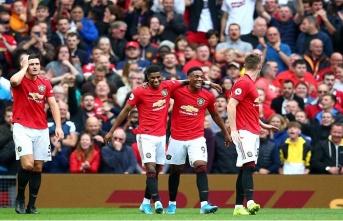 Manchester United, Chelsea'yi dağıttı: 4-0