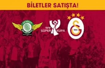TFF Süper Kupa maçının biletleri satışa çıktı