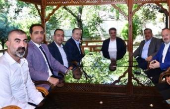 BtcTurk Yeni Malatyaspor Yönetimi'nden dostluk...
