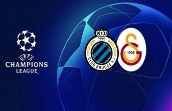 Club Brugge 0 - 0 Galatasaray (İlk yarı sona erdi)