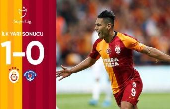 Galatasaray 1-0 Kasımpaşa (İlk yarı sona erdi)