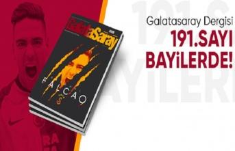 Galatasaray Dergisi'nin 191. sayısı bayilerde