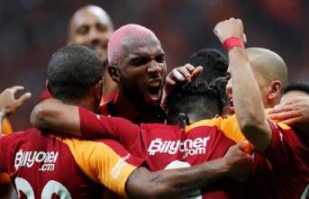 Galatasaray evinde yenilmezliğini 38'e çıkardı