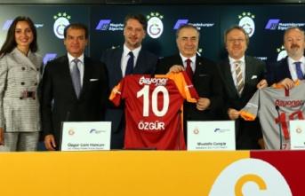 Galatasaray ile Magdeburger Sigorta arasında sponsorluk...