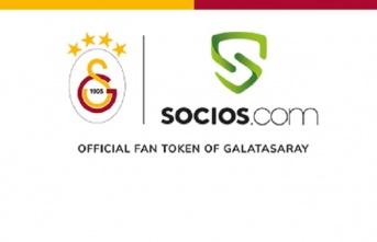 Galatasaray ile Socios.com arasında iş birliği...